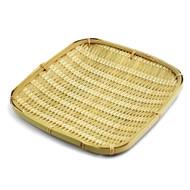 "Bamboo Tempura Plate 8 1/4"" x 8 1/4"""