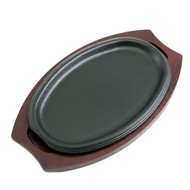 Oval Cast Iron Sizzling Plate 10.67  x ...  sc 1 st  MTC Kitchen & Japanese Tableware : MTC Kitchen