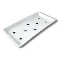White Sashimi Plate
