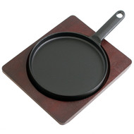 Round Cast Iron Sizzling Plate