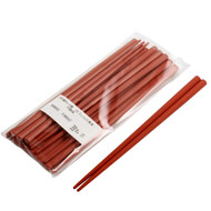 Red Plastic Chopsticks (10 Pairs/pack)