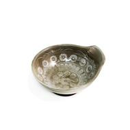 "Flower Motif Tonsui Bowl 4 3/4"" dia"
