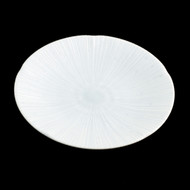 "Shell Textured Plate  8.7"" dia"