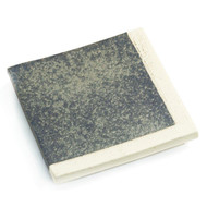 "Shimmery Slab Square Plate 8 1/8"" x 8 1/8"""