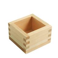 Square Cypress Sake Cup 6 oz