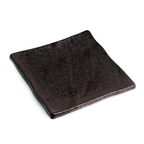 Image 1  sc 1 st  MTC Kitchen & Matte Black Square Plate 7.1\