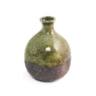 Moss Brown Ceramic Sake Server 9 oz