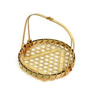 "Bamboo Tempura Basket 6"" dia"