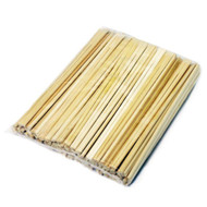 "8 1/4"" Disposable Bamboo Chopsticks (100 pairs/pack)"