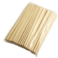 "8 1/4"" Disposable Pine Chopsticks (100 pairs/pack)"