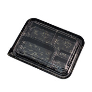 "VS-32-M Take Out Bento Box  10 5/8"" x 8 1/4"" (50/pack)"