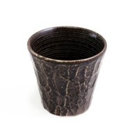 Black Textured Shochu Cup