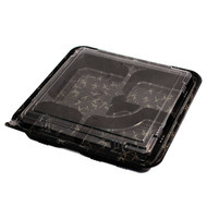 "VS-33-L Take Out Bento Box 10 5/8"" x 10 5/8"" (50/pack)"