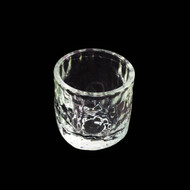 Textured Glass Sake Cup 1 oz