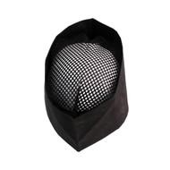 Black Mesh Top Skull Cap L