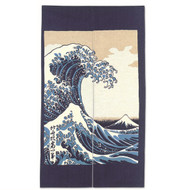 Noren Curtain with Wave