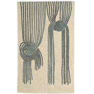 Noren Curtain with Draping Rope Design