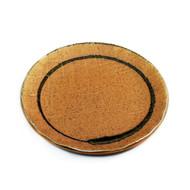 "Sand Beige Plate 6.5"" dia"