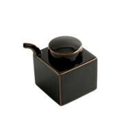 Hakusan Black Square Soy Sauce Dispenser 7 fl oz