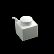 Hakusan White Square Soy Sauce Dispenser