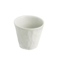 White Textured Shochu Cup
