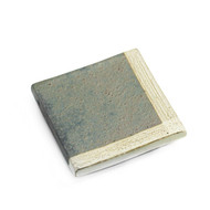 "Shimmery Slab Square Plate 5 7/8"" x 5 7/8"""