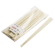Ivory Plastic Chopsticks (10 pairs/pack)