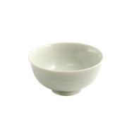 "Whitewashed Rice Bowl 4 3/8"" dia"