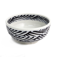 "[Clearance] Noodle Bowl with Blue Pattern 6 3/4"" dia"