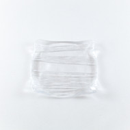 "Square Glass Plate 5.1"" x 5.1"""