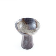 Brown Ceramic Sake Goblet 3.4 oz
