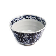 "Blue & White Noodle Bowl 5 7/8"" dia"