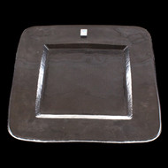 "Orbit Square Glass Plate 11"" x 11"""