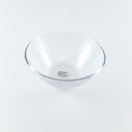 "Textured Glass Bowl 4 3/4"" dia"