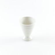 [Clearance] White Ceramic Sake Goblet 1.7 oz