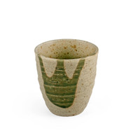 15% OFF with code MTCMATCHA15 - Tea Cup with Moss Green Design