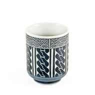 15% OFF with code MTCMATCHA15 - Tea Cup with Seigaiha Wave