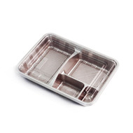 "Z-51 Red Take Out Bento Box  9"" x 6.7"" (100/pack)"