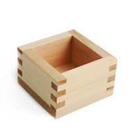 Square Cypress Sake Cup 4.8 oz