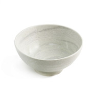 "White & Gray Noodle Bowl 46 fl oz / 7.48"" dia"