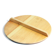 Large Wooden Drop Lid Otoshibuta