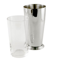 15% Off with code MTCBARWARE15 - Yukiwa Stainless Steel + Glass Boston Cocktail Shaker 700ml (23.7 oz)
