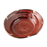 "Rustic Red Bowl 9 5/8"" x 9"""