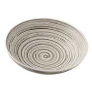 "Gray Swirl Bowl 84 fl oz / 11.25"" dia"