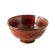 "Rustic Red Rice Bowl 5"" dia"