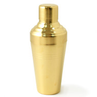 Yukiwa Matte Gold-Plated Baron Shaker 410ml (13.8 oz)
