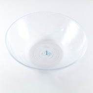 "Minamo Glass Bowl 9 5/8"" dia"