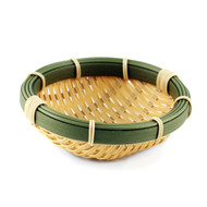 "Washable Faux Bamboo Bowl 7 1/8"" dia"