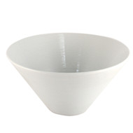 "Lined White Noodle Bowl 8 1/4"" dia"