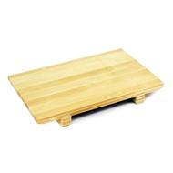 "Bamboo Sushi Geta Plate  10.5"" x 7"""